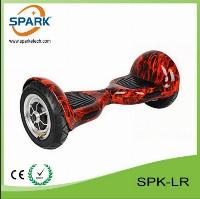 2015 Telecomando 10 pollici Dropshipping 2 ruote auto bilanciamento Scooter elettrico di plastica copertura Hover (SPK-LR)