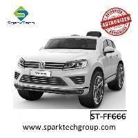 Children electric car price Licensed Volkswagen Touareg 4 seater kids electric car(ST-FF666)