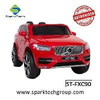 2018 new Volvo License Electric Ride On Cars For Kids RC With Carry Handle Leather Seat(ST-FXC90)