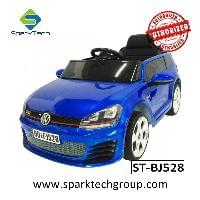 New Cool Toy Car For Kids To Drive, Licensed Volkswagen Golf GTI Electric Kids Car(ST-BJ528)