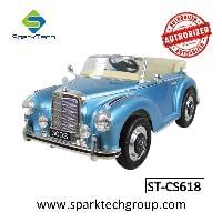Licensed Mercedes-Benz Electric Car For Kids Ride On ,Paint Color Available(ST-CS618)