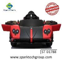 Wholesale ride on battery operated kids baby car  Licensed Pagani (ST-D1788)