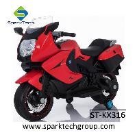 As crianças de brilho das rodas CVT montam em brinquedos de Motorycle para as crianças (ST-KX316)