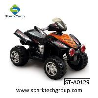Easy AssembLED Kids Electric Motorcycle 4 Wheel Motorcycle For Baby (ST-A0129)