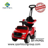Newest Licensed Ford Ranger Foot To Floor Push Car Battery Motor 3 In 1 Kids Ride On Car(ST-FKP01)