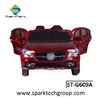Passeio plástico do carro das crianças no passeio recarregável de dois assentos do brinquedo do carro no carro do brinquedo (ST-G609A)