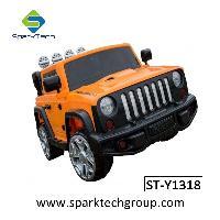 O controle remoto dobro das portas abríveis caçoa o passeio elétrico em brinquedos do carro (ST-Y1318)