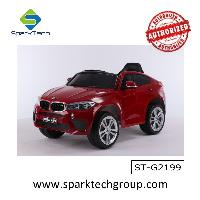 2018 Hot sale car toy kids electric car licensed BMW x6m ride on(ST-G2199)
