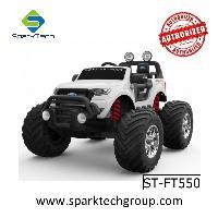 SparkFun licenciado Ford Ranger Monster Truck 4 motores Big UTV Kids Ride no carro (ST-FT550)