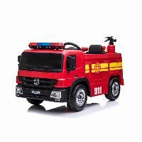 Passeio da bateria de SparkFun 2019 12V no caminhão da luta contra o incêndio das crianças do caminhão de bombeiros do brinquedo do carro (ST-D1818)