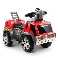 SparkFun passeio elétrico do carro de bombeiros de 6 volts no carro do brinquedo para miúdos pequenos (ST-MV119)