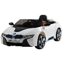 Passeio ao ar livre para crianças SparkFun em carro elétrico de controle remoto licenciado para brinquedos BMW I8 para crianças (ST-GE168)