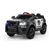 As crianças elétricas do projeto novo de SparkFun Land Rover SUV montam em brinquedos do carro de polícia para o passeio (ST-JC002)