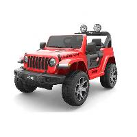 SparkFun New Licensed Jeep Wrangler Rubicon Kids Electric Ride on Toy Car (ST-FR555)