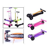 SparkFun Best Selling High Quality Cheap Wholesale Popular 4 Wheels Foldable Kick Scooter for Kids (SF-SW030C)