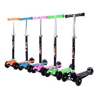 Best Selling High Quality Cheap Wholesale Popular 4 Wheels Foldable Kick Kid Scooter (SF-SW030A)