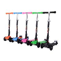 Best Selling High Quality Glass Fiber Reinforced Pedal Foldable 4 Wheels Scooter for Kids New 2019 (SF-SW031)