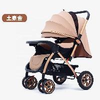 Venda de fábrica Carrinho de bebê dobrável reversível carrinho de bebê carrinho de bebê com roda de borracha maior (SF-S9912)