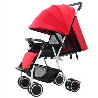 Best selling Portability Suspensão Carrinho de bebê resistente luz guarda-chuva com carrinho de jardim dobrável Lycra (SF-S016B)