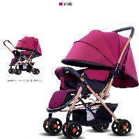 High-end Evite Vibração Barato Carrinho de Bebê Dobrável Infantil Vagões Envoltório Moda Trole Durável (SF-S601A)