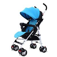 Hot Selling Small Size Black Color Cotton Material Doll Stroller Baby Pram Heated Baby Stroller (SF-S501T)