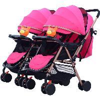 Carrinho de bebê dobrável multifuncional popular do carrinho de bebê de Xangai Carrinho de criança em tandem (SF-S6603)