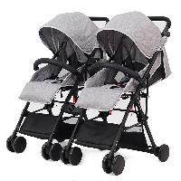 Alumínio destacável dois bebê usando dobrável carrinho de bebê carrinho de bebê carrinho de bebê para gêmeos (SF-S806F1)