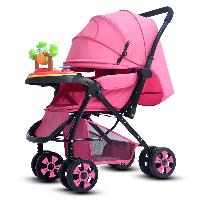 New Design Reversible Handle Grace Kids Luxury Baby Stroller with Music Box (SF-S8001)