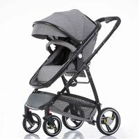 Multi-color Optional Linen Canopy Fabric Aluminum Alloy Baby Stroller with EN1888 Certificate (SF-S0808B)