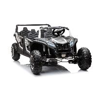 New Children Car Toys Electric Plastic Toy Car To Drive Classic Open Four-door Double Row Four Seats UTV (ST-YA033)